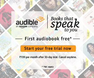 Amazon audible first month free offer