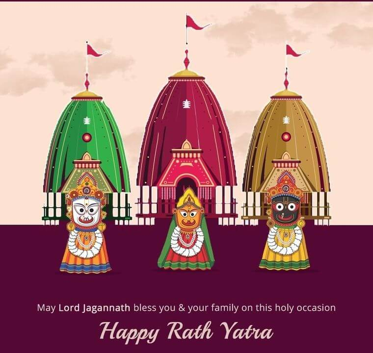 Bengali Happy Ratha Yatra Wishes, Messages, SMS, Quotes